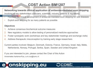 COST Action Slide 2014